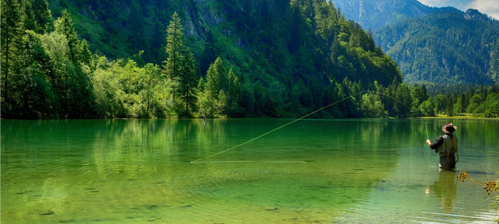 Alps Fishing - Luxury Summer Chalets | Alpine Activity Holidays