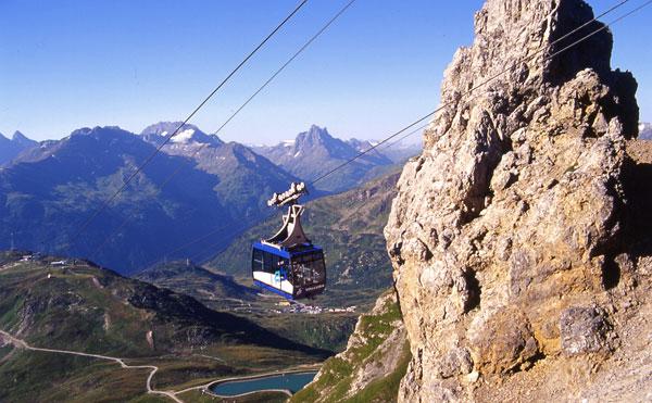 Summer in St. Anton am Arlberg