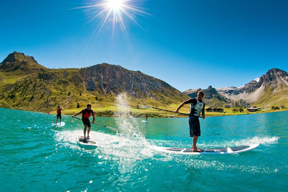 water sports in the Alps
