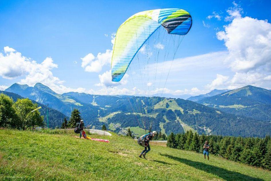 Sylvain Cochard - Paragliding Morzine