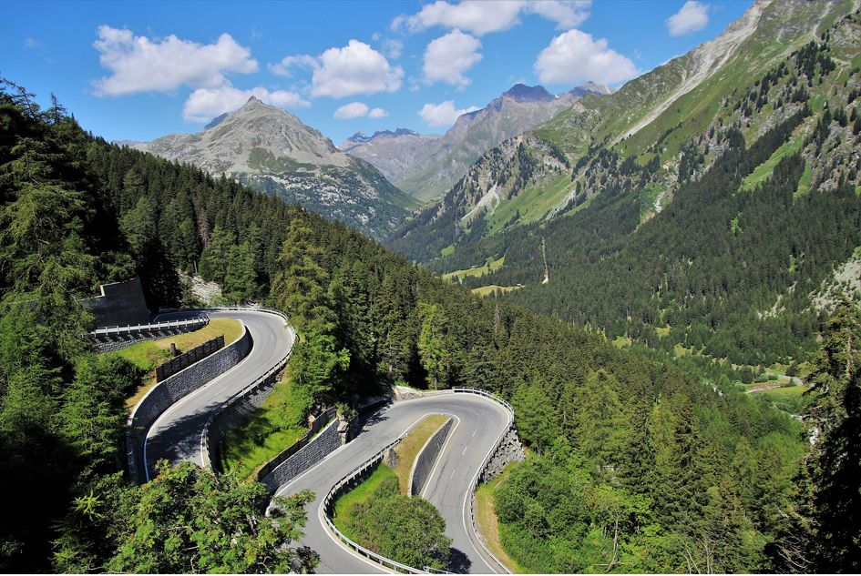 Car Touring in the Alps