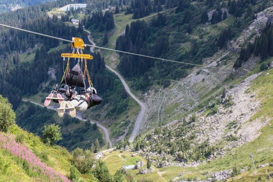 summer activities in Chatel
