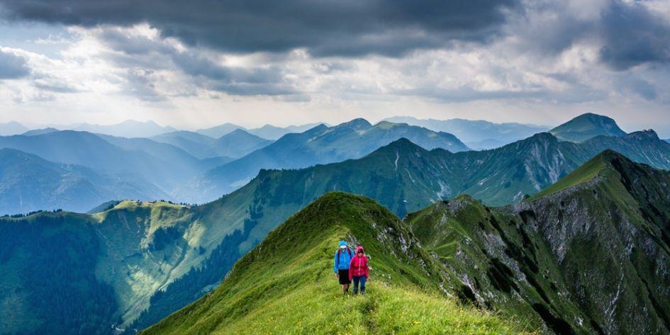 mountains, hiking, weather, alpine weather