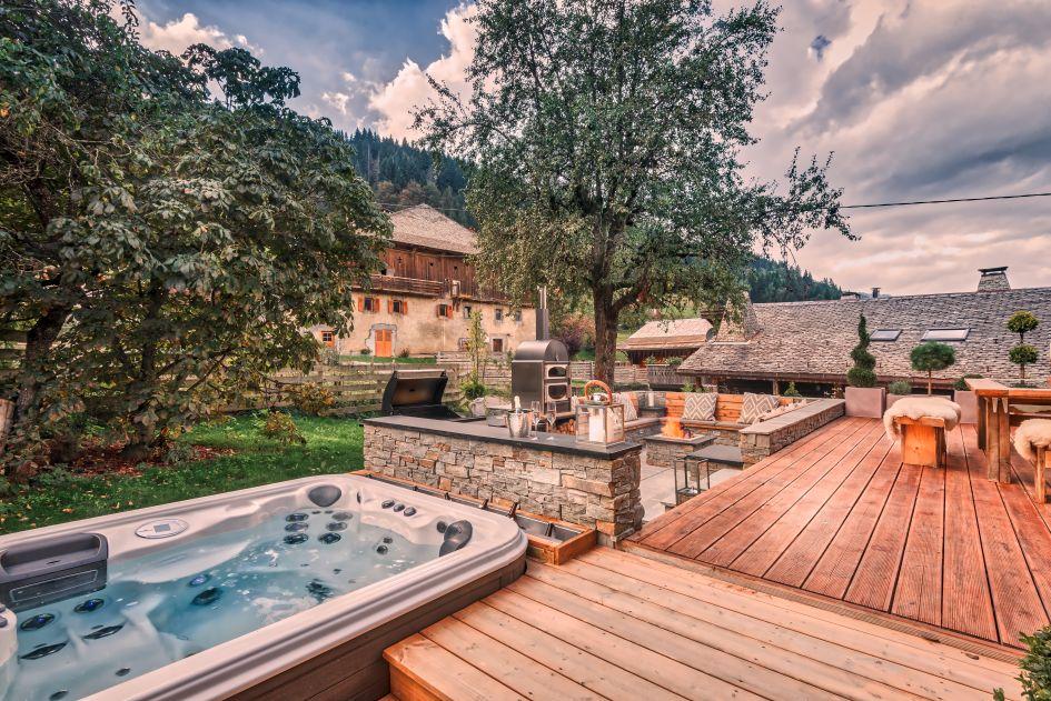 Chalet 46, Morzine, Summer, Alps, Mountains, Luxury