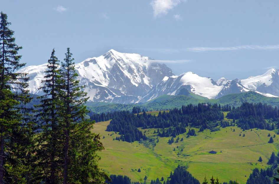 Mont Blanc Massif - A Luxury Summer Holiday in Morzine