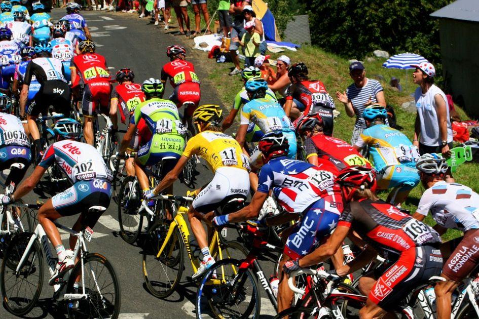 Tour De France, Meribel, Alps, Mountains