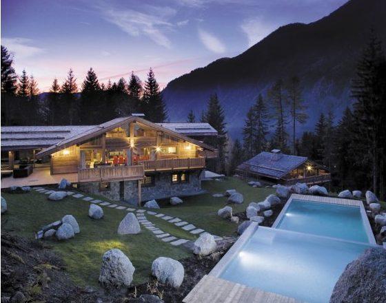 Chamonix, summer, mountains, alps, luxury ski chalet