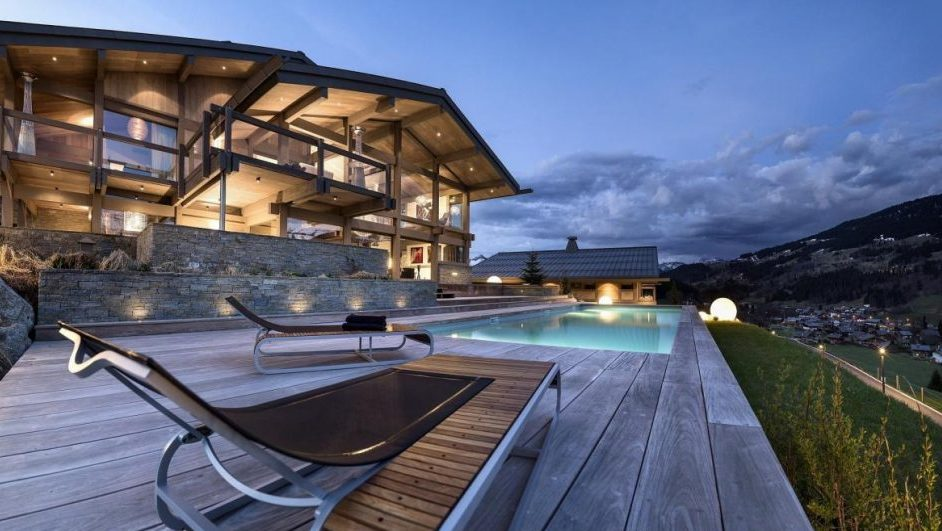 summer, megeve, mountains, swimming pool, views, relaxing