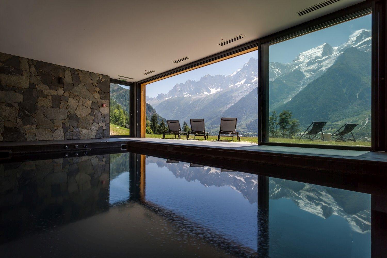 best luxury chalets in the Alps, luxury summer chalet, Mont Blanc, Chamonix