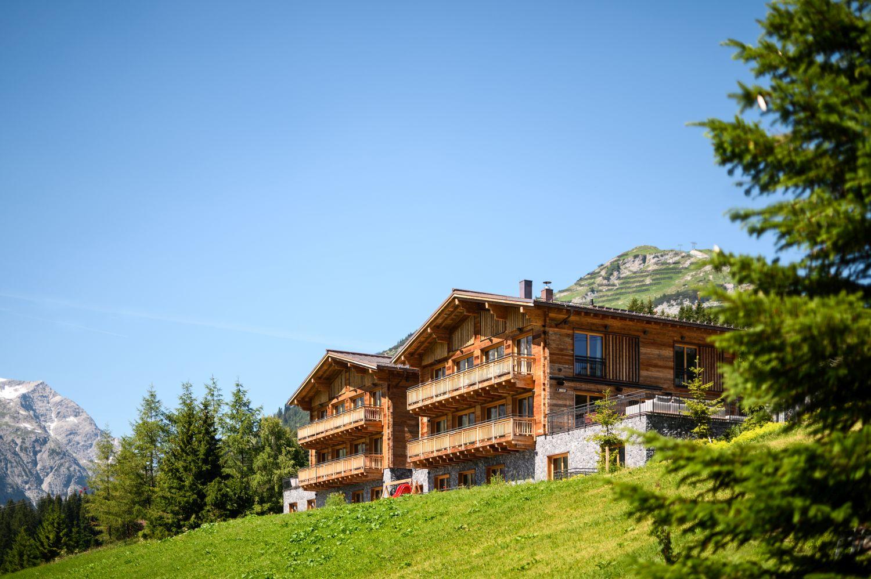 best luxury summer chalets, ultimate summer chalets, super luxury, alpine luxury, Lech, arlberg