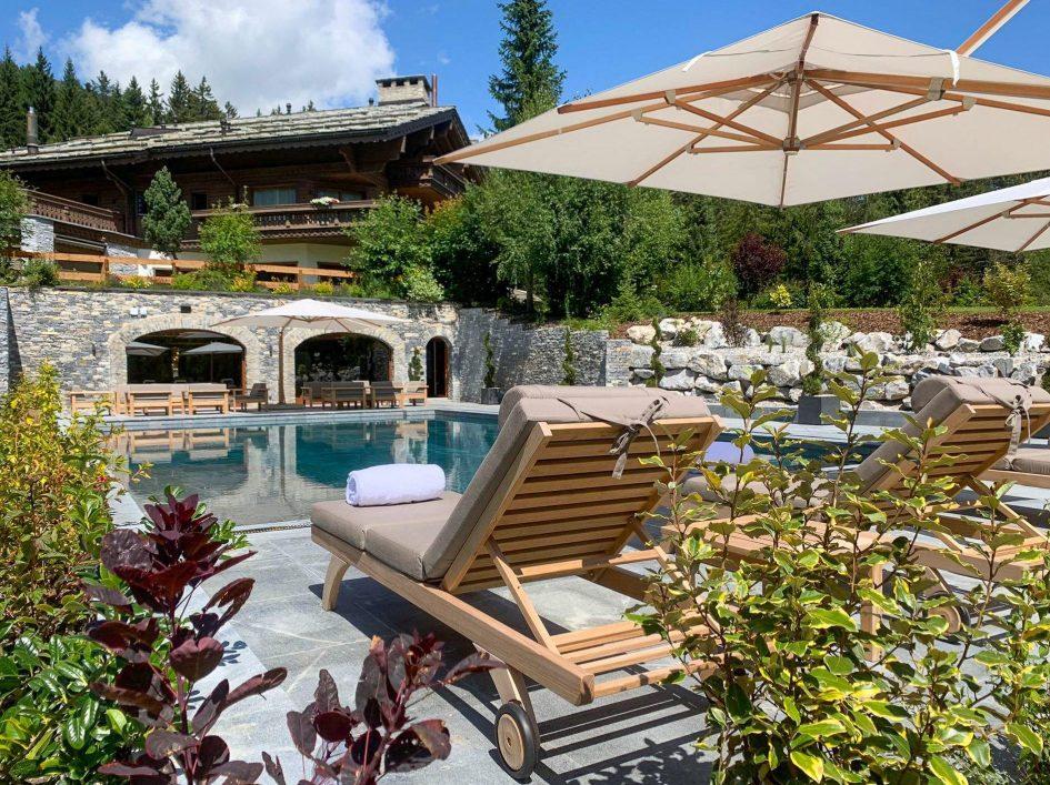 Crans Montana, summer, alps, mountains, ski, luxury, chalet