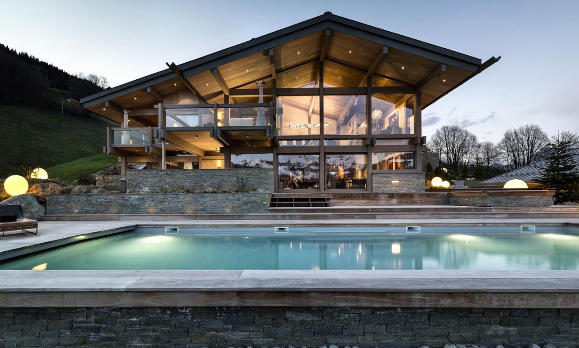 luxury summer chalet, Megeve, best luxury summer chalets