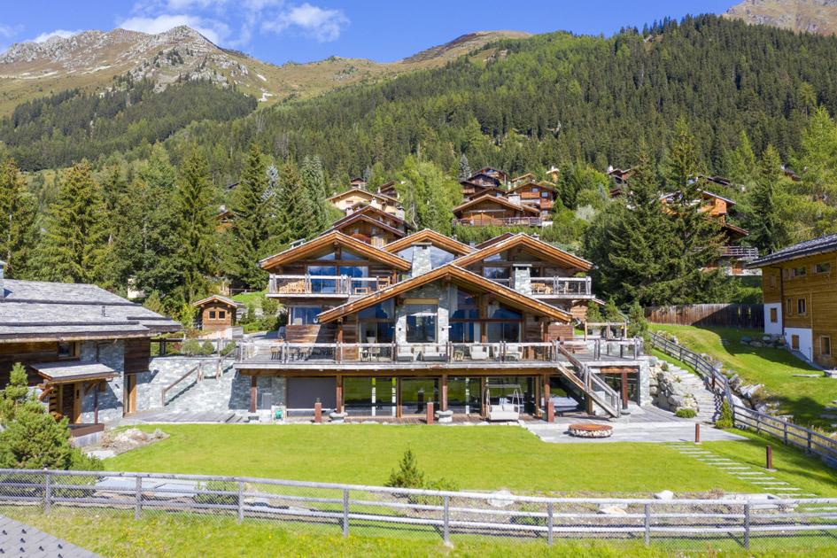 luxury chalet, luxury summer holiday, summer in Verbier, Verbier luxury chalet