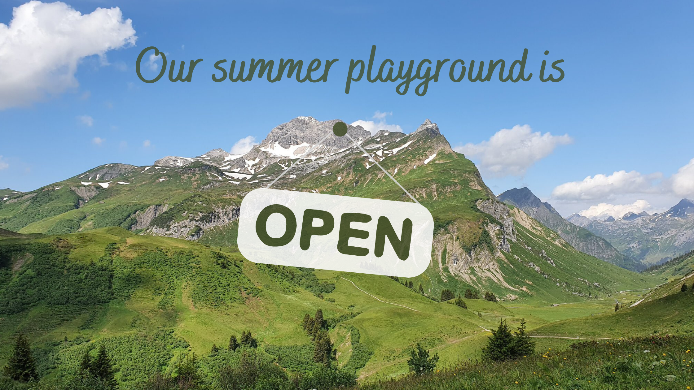 social distancing summer holiday, summer holiday Alps