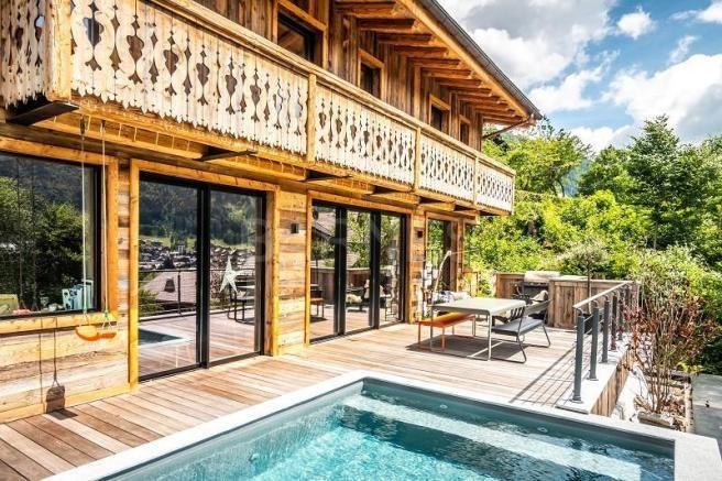 Alpine Retreat, Morzine, Portes du Soleil summer holiday, Morzine summer, Hot tub, terrace
