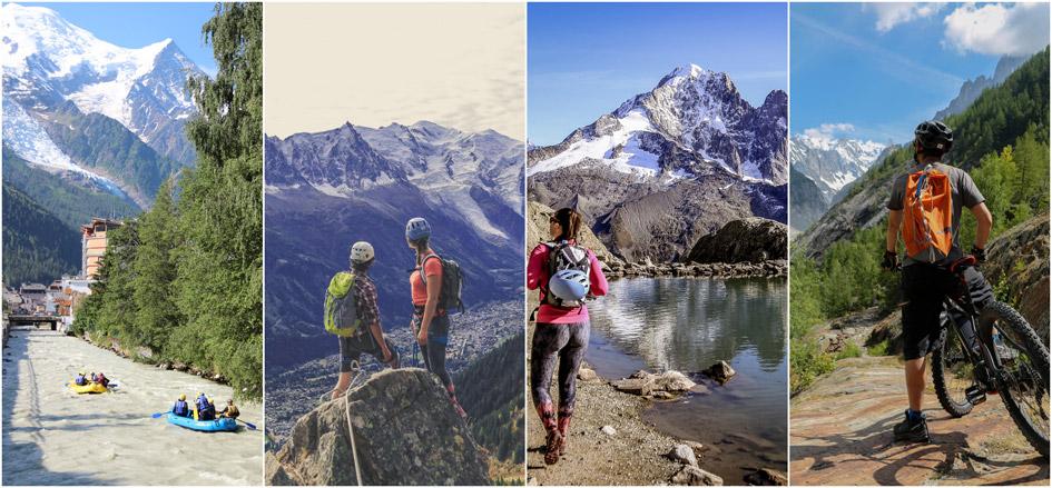 Summer activities Chamonix, Summer holidays in Chamonix, Summer holidays to Chamonix, Chamonix summer holidays