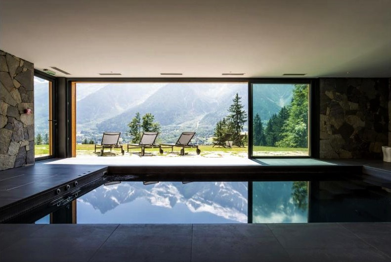 Le Chalet Mont Blanc, Chamonix summer holiday, summer holiday in the alps, swimming pool, luxury summer holiday