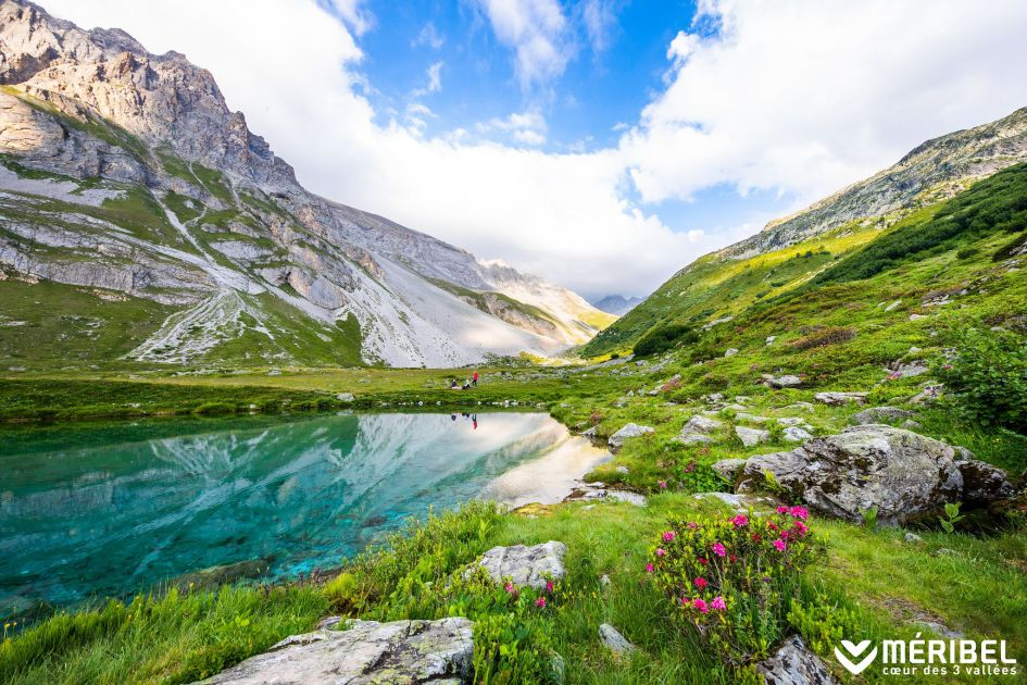 move to the mountains, mountians and lakes, Meribel in the summer, summer season in Meribel