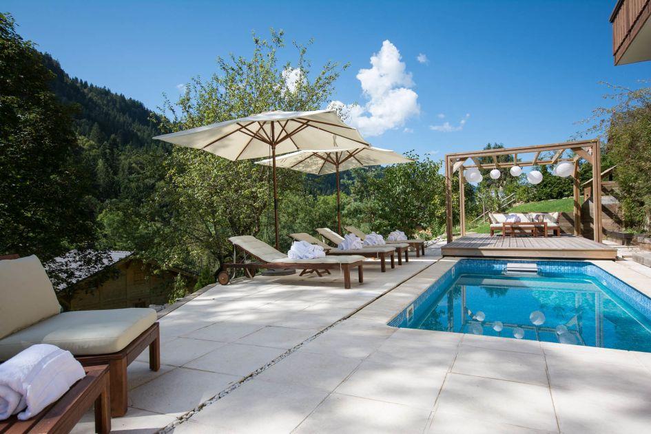 luxury summer chalet Morzine, affordable Morzine holiday, affordable luxury summer holiday