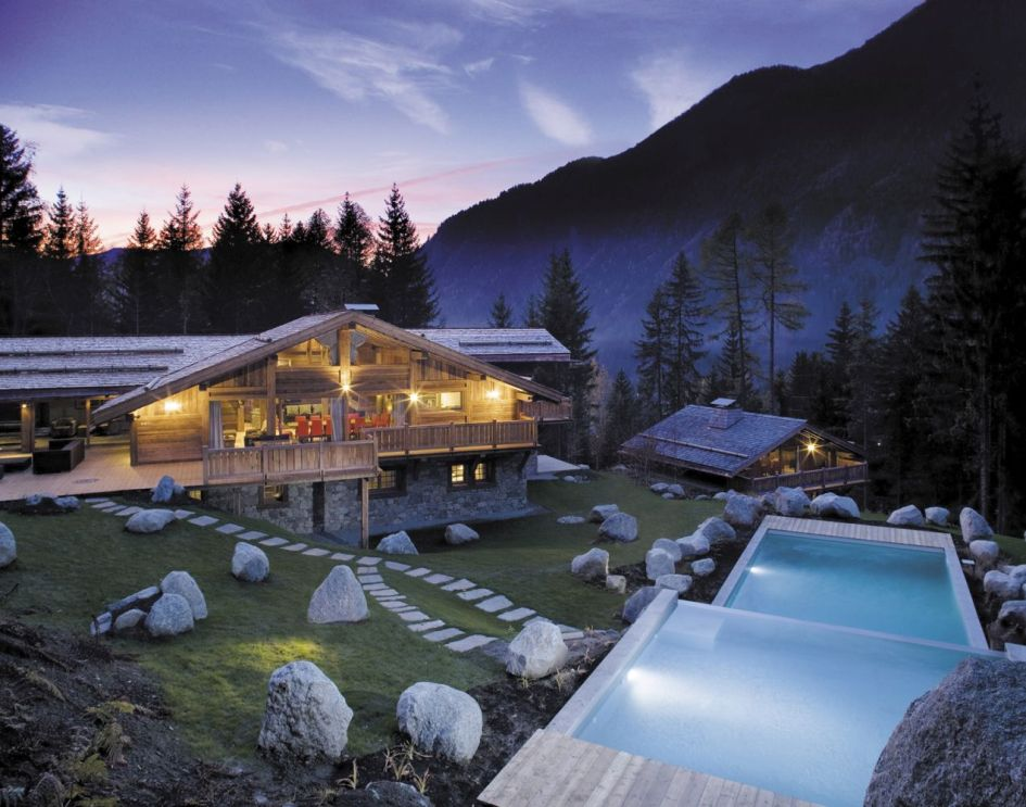 luxury summer chalet Chamonix, best affordable chalets in the alps, alpine value for luxury