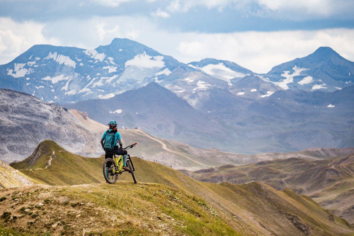 mountain biking in Vanoise National Park, activities in Vanoise National Park, National Park Holidays
