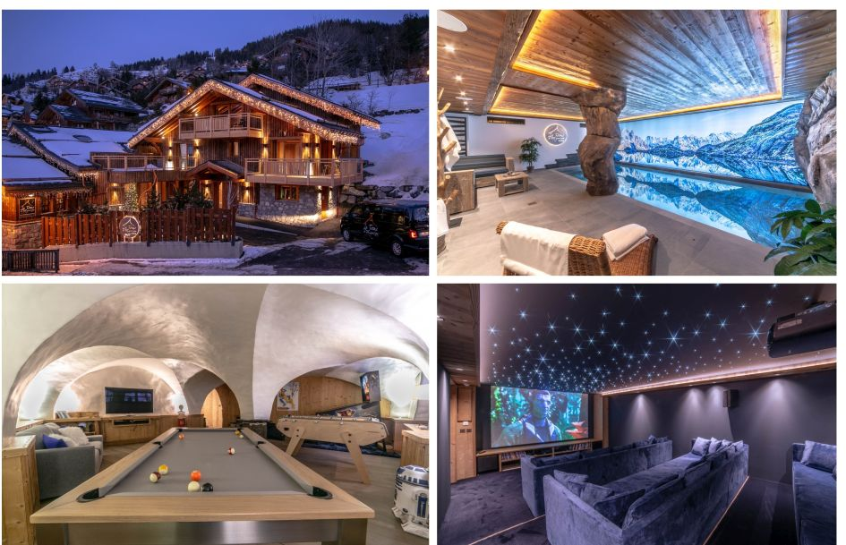 Meribel, summer chalet, family holiday, swimming pool, mountains
