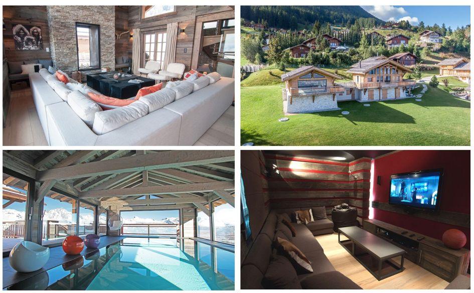 Nendaz, summer, garden, swimming pool, chalet, views, family friendly summer chalet