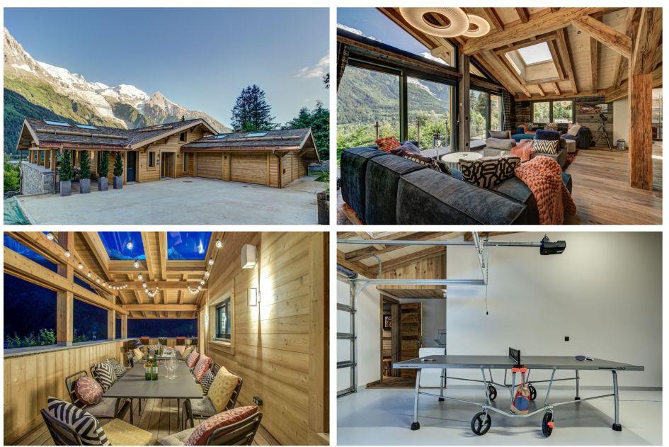 Mountain, Summer, Chamonix, Luxury Chalet, Family